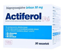 ActiFerol Fe 30 mg prosz.do rozp.30 sasz.