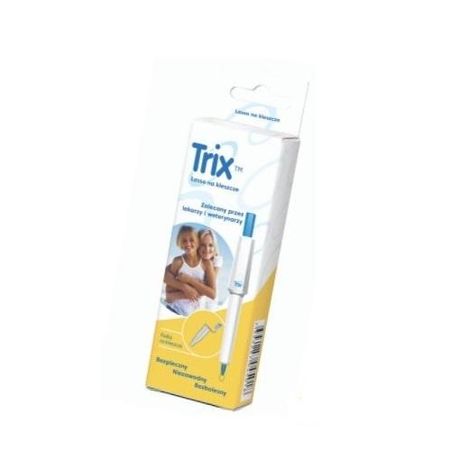 Trix lasso na kleszcze 1 szt. | Apteka internetowa, antyperspirant, avent, bioderma, bioliq, canpol, cera trądzikowa preparaty, dermokosmetyki, geriavit, grzybica leki bez recepty, himalaya, kreon, leki bez recepty, leki na grypę, leki na przeziębienie, leki na uspokojenie, mascara med., maxigra go, maxon, mensil, mugga, mustela, odchudzanie leki, odporność, pirolam, tabletki na ból gardła, test ciążowy, tran mollers, vichy, witamina d, wszy preparaty, zapalenie stawów, zestawy kosmetyków, ziaja