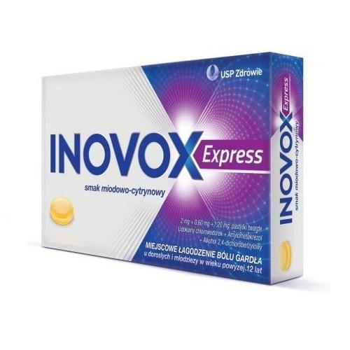 Inovox Express sm.miodowo-cytryn.36 past. | Apteka internetowa, antyperspirant, avent, bioderma, bioliq, canpol, cera trądzikowa preparaty, dermokosmetyki, geriavit, grzybica leki bez recepty, himalaya, kreon, leki bez recepty, leki na grypę, leki na przeziębienie, leki na uspokojenie, mascara med., maxigra go, maxon, mensil, mugga, mustela, odchudzanie leki, odporność, pirolam, tabletki na ból gardła, test ciążowy, tran mollers, vichy, witamina d, wszy preparaty, zapalenie stawów, zestawy kosmetyków, ziaja