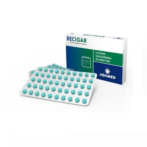 Recigar tabl.powl. 1,5 mg 100 tabl. | Apteka internetowa, antyperspirant, avent, bioderma, bioliq, canpol, cera trądzikowa preparaty, dermokosmetyki, geriavit, grzybica leki bez recepty, himalaya, kreon, leki bez recepty, leki na grypę, leki na przeziębienie, leki na uspokojenie, mascara med., maxigra go, maxon, mensil, mugga, mustela, odchudzanie leki, odporność, pirolam, tabletki na ból gardła, test ciążowy, tran mollers, vichy, witamina d, wszy preparaty, zapalenie stawów, zestawy kosmetyków, ziaja