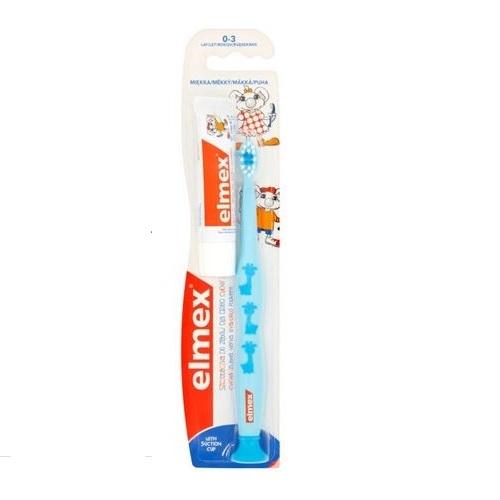 Szczoteczka do zęb.ELMEX d/dzieci 0-3 1szt