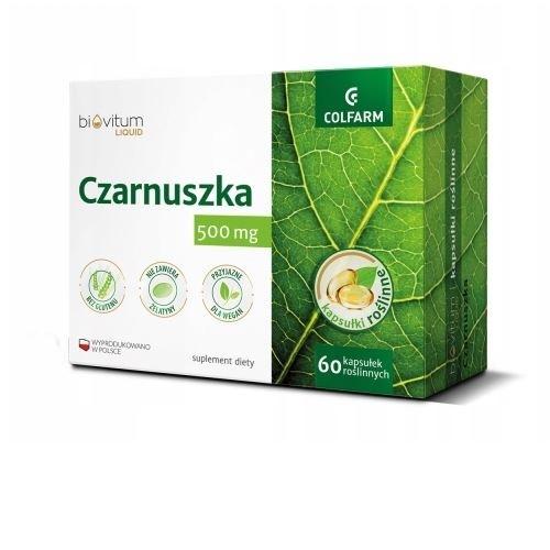 Biovitum Liquid Czarnuszka kaps. 60kaps.