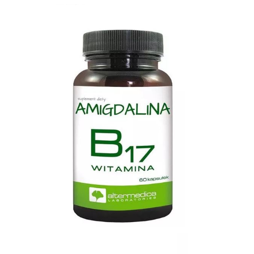Witamina B17- Amigdalina kaps. 60 kaps.
