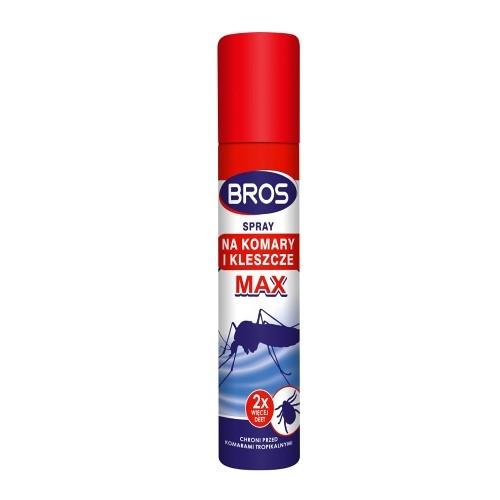 BROS Spray na komary i kleszcze MAX 90 ml | Apteka internetowa, antyperspirant, avent, bioderma, bioliq, canpol, cera trądzikowa preparaty, dermokosmetyki, geriavit, grzybica leki bez recepty, himalaya, kreon, leki bez recepty, leki na grypę, leki na przeziębienie, leki na uspokojenie, mascara med., maxigra go, maxon, mensil, mugga, mustela, odchudzanie leki, odporność, pirolam, tabletki na ból gardła, test ciążowy, tran mollers, vichy, witamina d, wszy preparaty, zapalenie stawów, zestawy kosmetyków, ziaja