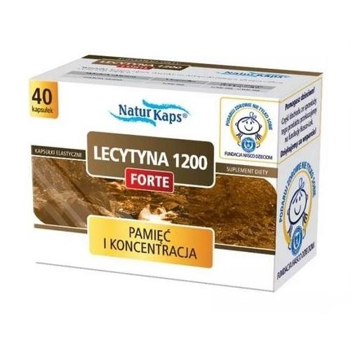 Naturkaps Lecytyna 1200 Forte kap. 40 kap.