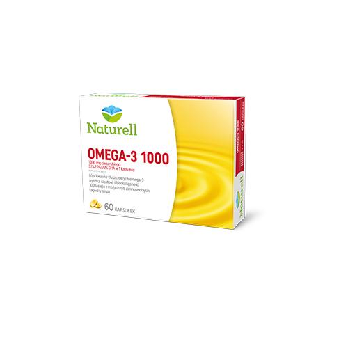NATURELL Omega-3 1000 kaps. 60 kaps.