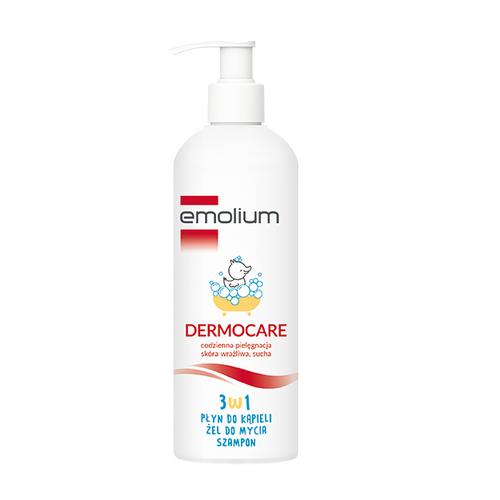 EMOLIUM Dermocare 3w1 Płyn/żel/szampon 400