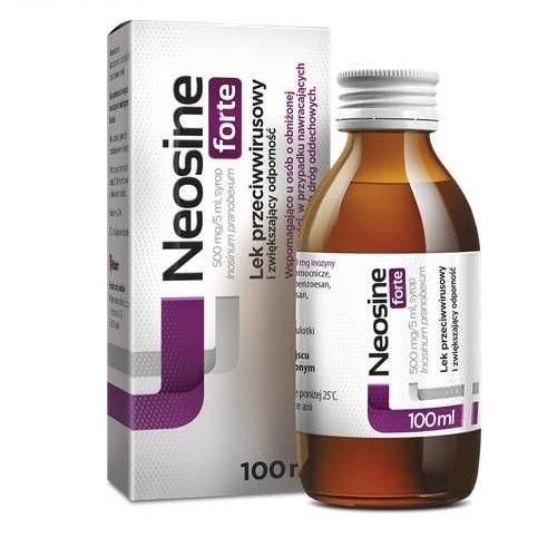 Neosine Forte syrop 0,5 g/5ml 100 ml | Apteka internetowa, antyperspirant, avent, bioderma, bioliq, canpol, cera trądzikowa preparaty, dermokosmetyki, geriavit, grzybica leki bez recepty, himalaya, kreon, leki bez recepty, leki na grypę, leki na przeziębienie, leki na uspokojenie, mascara med., maxigra go, maxon, mensil, mugga, mustela, odchudzanie leki, odporność, pirolam, tabletki na ból gardła, test ciążowy, tran mollers, vichy, witamina d, wszy preparaty, zapalenie stawów, zestawy kosmetyków, ziaja