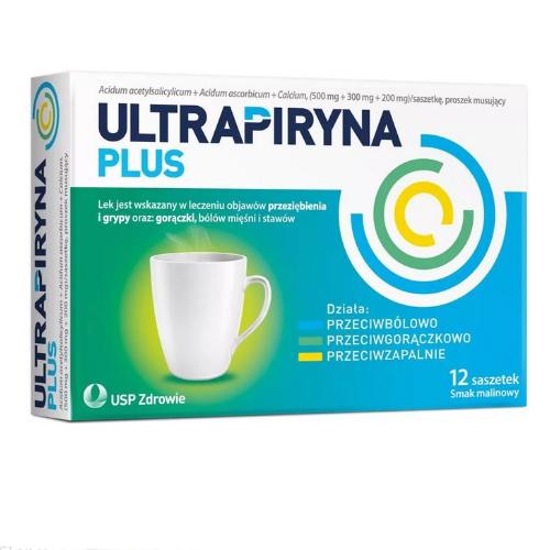 Ultrapiryna Plus prosz.musuj. 12 sasz.