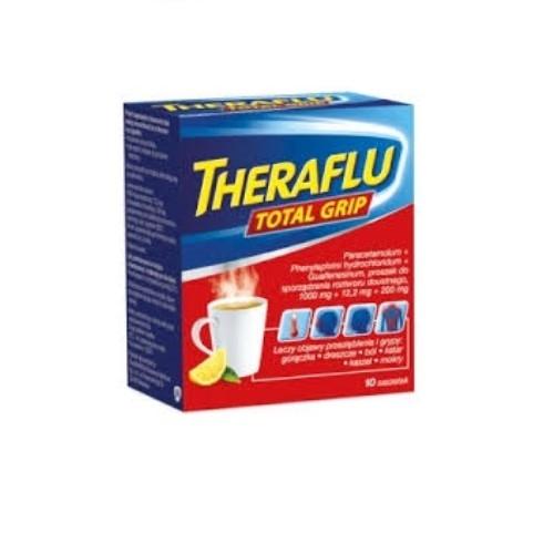 Theraflu Total Grip prosz.10 sasz. | Apteka internetowa, antyperspirant, avent, bioderma, bioliq, canpol, cera trądzikowa preparaty, dermokosmetyki, geriavit, grzybica leki bez recepty, himalaya, kreon, leki bez recepty, leki na grypę, leki na przeziębienie, leki na uspokojenie, mascara med., maxigra go, maxon, mensil, mugga, mustela, odchudzanie leki, odporność, pirolam, tabletki na ból gardła, test ciążowy, tran mollers, vichy, witamina d, wszy preparaty, zapalenie stawów, zestawy kosmetyków, ziaja