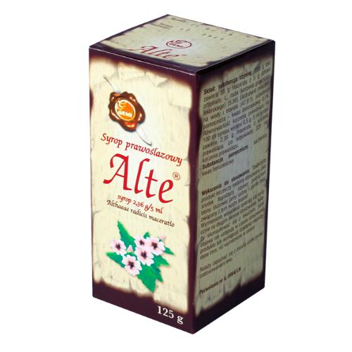 Syrop  Prawoślazowy Alte 125 g GEMI