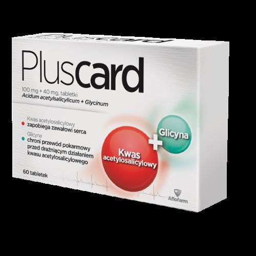 Pluscard tabl. 0,1g+0,04g 60 tabl.