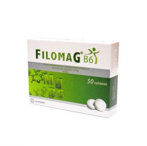 Filomag B6 tabl. (0.04g+5mg) 50 tabl.