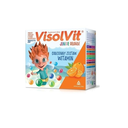 Visolvit Orange Junior gran.mus. 30sasz.