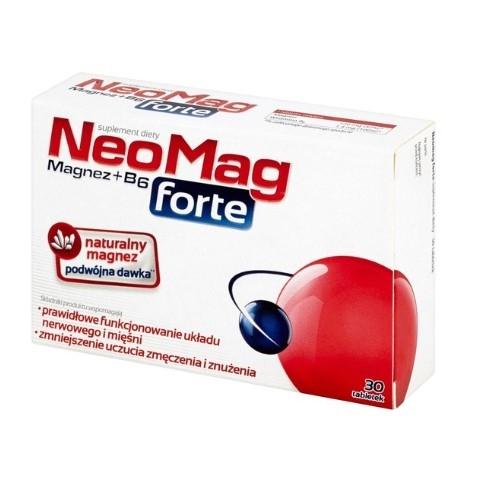 NeoMag Forte tabl. 30 tabl.