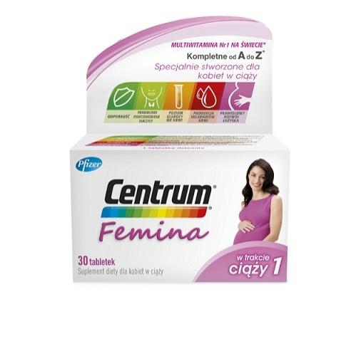Centrum Femina 1 w ciąży 30tabl