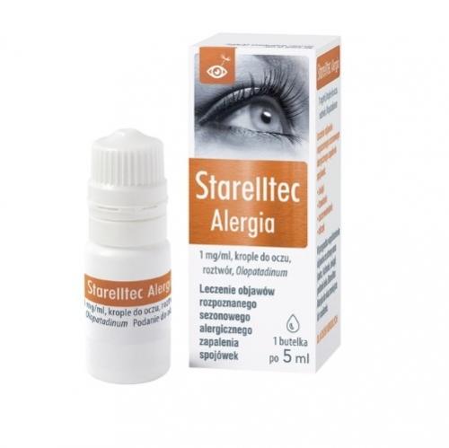 Starelltec Alergia krop.dooczu 1mg/ml 5 ml