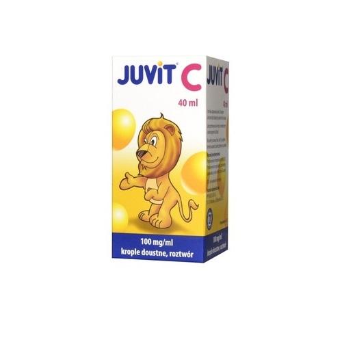 Juvit krople 0.1 g/1ml 40 ml
