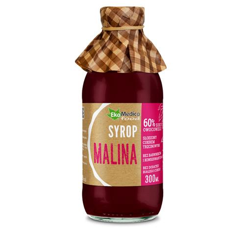 EkaMedica Syrop Malina 0.3 l