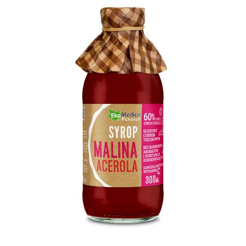 EkaMedica Syrop Malina, Acerola 0.3 l