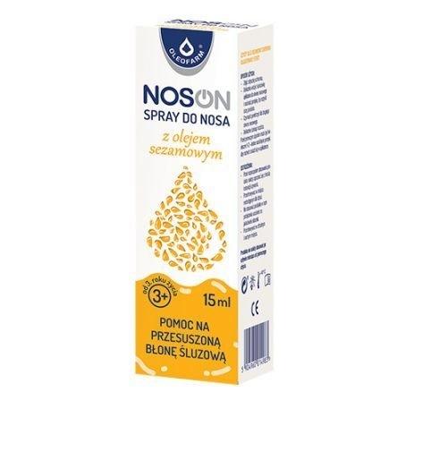 NOSON Spray do nosa z ol.sezamowym 15 ml
