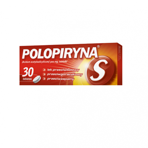 Polopiryna S tabl. 0,3 g 30 tabl.