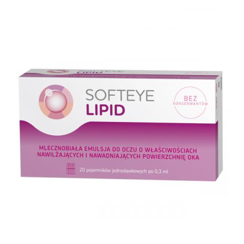 Softeye Lipid 20 poj.a 0,3ml