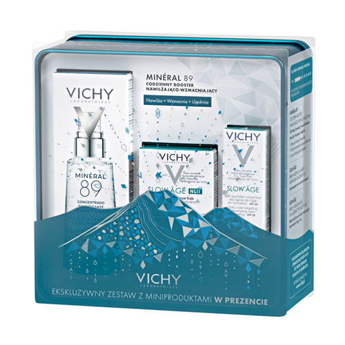 VICHY MINERAL BOOSTER 50ml + Slow Age