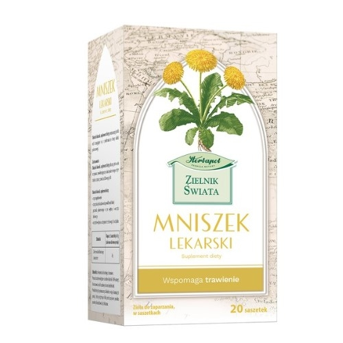 Zioła fix Mniszek Lekar.20 toreb.Herb.Lub.