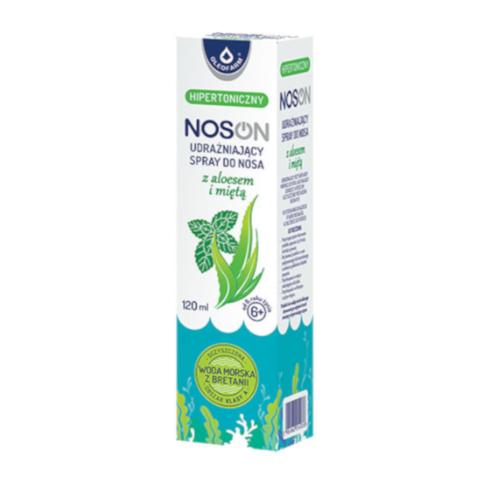 NOSON Spray do nosa udraż.z aloesem 120 ml