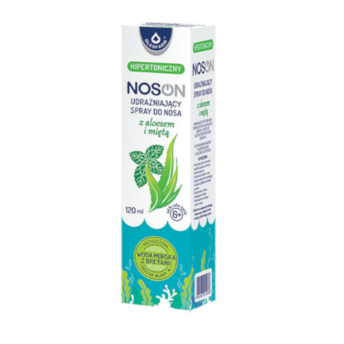 NOSON Spray do nosa udraż.z aloesem 120 ml