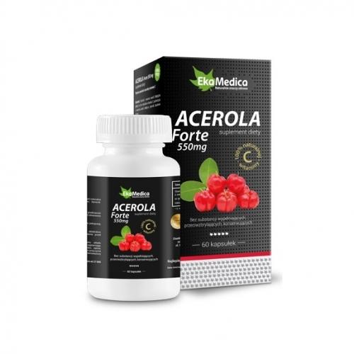 EkaMedica Acerola Forte kaps.0,5 g 60kaps.