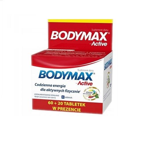 Bodymax Active 80 tabl.(60+20tabl.)