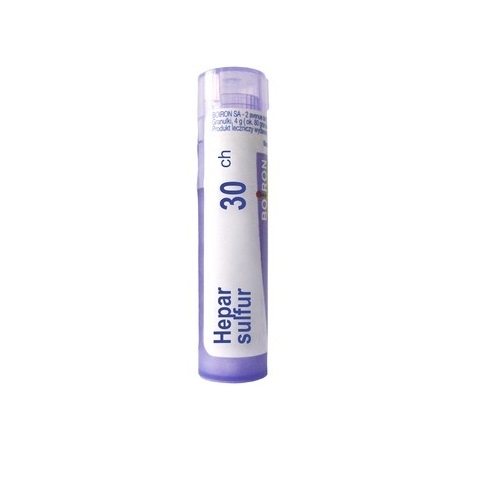 BOIRON Hepar Sulfur 30 CH granulki 4 g