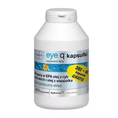 Eye Q kaps. 400 kaps. | Apteka internetowa, antyperspirant, avent, bioderma, bioliq, canpol, cera trądzikowa preparaty, dermokosmetyki, geriavit, grzybica leki bez recepty, himalaya, kreon, leki bez recepty, leki na grypę, leki na przeziębienie, leki na uspokojenie, mascara med., maxigra go, maxon, mensil, mugga, mustela, odchudzanie leki, odporność, pirolam, tabletki na ból gardła, test ciążowy, tran mollers, vichy, witamina d, wszy preparaty, zapalenie stawów, zestawy kosmetyków, ziaja
