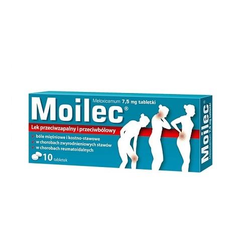 Moilec tabl. 7,5 mg 10 tabl. | Apteka internetowa, antyperspirant, avent, bioderma, bioliq, canpol, cera trądzikowa preparaty, dermokosmetyki, geriavit, grzybica leki bez recepty, himalaya, kreon, leki bez recepty, leki na grypę, leki na przeziębienie, leki na uspokojenie, mascara med., maxigra go, maxon, mensil, mugga, mustela, odchudzanie leki, odporność, pirolam, tabletki na ból gardła, test ciążowy, tran mollers, vichy, witamina d, wszy preparaty, zapalenie stawów, zestawy kosmetyków, ziaja