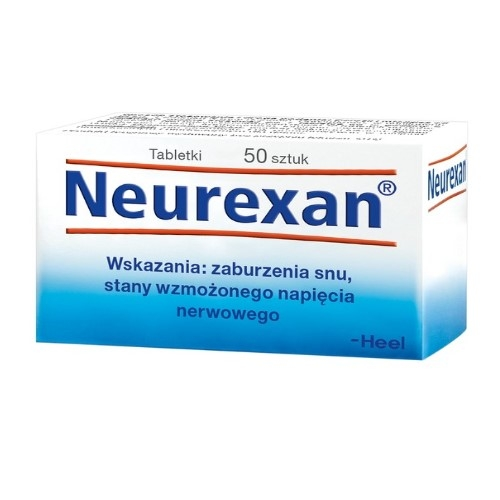 HEEL Neurexan tabl. 50 tabl.