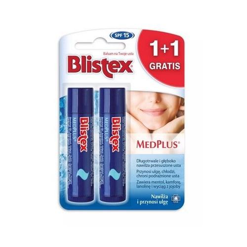 BLISTEX MEDPLUS Balsam do ust 1+1 | Apteka internetowa, antyperspirant, avent, bioderma, bioliq, canpol, cera trądzikowa preparaty, dermokosmetyki, geriavit, grzybica leki bez recepty, himalaya, kreon, leki bez recepty, leki na grypę, leki na przeziębienie, leki na uspokojenie, mascara med., maxigra go, maxon, mensil, mugga, mustela, odchudzanie leki, odporność, pirolam, tabletki na ból gardła, test ciążowy, tran mollers, vichy, witamina d, wszy preparaty, zapalenie stawów, zestawy kosmetyków, ziaja
