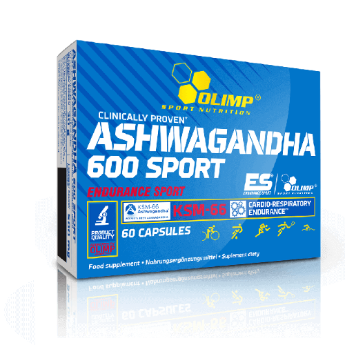 Olimp Ashwagandha 600 Sport kaps. 60kaps.