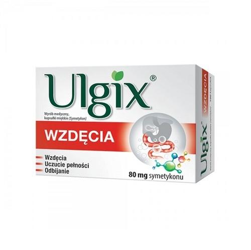Ulgix Wzdęcia kaps.miękkie 0,08g 100kaps. | Apteka internetowa, antyperspirant, avent, bioderma, bioliq, canpol, cera trądzikowa preparaty, dermokosmetyki, geriavit, grzybica leki bez recepty, himalaya, kreon, leki bez recepty, leki na grypę, leki na przeziębienie, leki na uspokojenie, mascara med., maxigra go, maxon, mensil, mugga, mustela, odchudzanie leki, odporność, pirolam, tabletki na ból gardła, test ciążowy, tran mollers, vichy, witamina d, wszy preparaty, zapalenie stawów, zestawy kosmetyków, ziaja