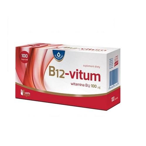 B12-Vitum kaps. 100 kaps.