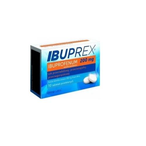 Ibuprex tabl.powl. 0,2 g 10 tabl. | Apteka internetowa, antyperspirant, avent, bioderma, bioliq, canpol, cera trądzikowa preparaty, dermokosmetyki, geriavit, grzybica leki bez recepty, himalaya, kreon, leki bez recepty, leki na grypę, leki na przeziębienie, leki na uspokojenie, mascara med., maxigra go, maxon, mensil, mugga, mustela, odchudzanie leki, odporność, pirolam, tabletki na ból gardła, test ciążowy, tran mollers, vichy, witamina d, wszy preparaty, zapalenie stawów, zestawy kosmetyków, ziaja