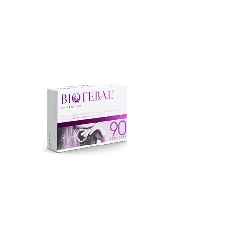 Biotebal tabl. 5 mg 90 tabl. (blistry)