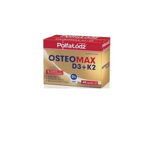 Osteomax D3+K2 tabl. 60 tabl. | Apteka internetowa, antyperspirant, avent, bioderma, bioliq, canpol, cera trądzikowa preparaty, dermokosmetyki, geriavit, grzybica leki bez recepty, himalaya, kreon, leki bez recepty, leki na grypę, leki na przeziębienie, leki na uspokojenie, mascara med., maxigra go, maxon, mensil, mugga, mustela, odchudzanie leki, odporność, pirolam, tabletki na ból gardła, test ciążowy, tran mollers, vichy, witamina d, wszy preparaty, zapalenie stawów, zestawy kosmetyków, ziaja