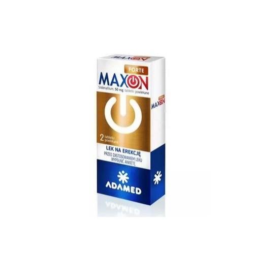 Maxon Forte tabl.powl. 0,05 g 2 tabl. | Apteka internetowa, antyperspirant, avent, bioderma, bioliq, canpol, cera trądzikowa preparaty, dermokosmetyki, geriavit, grzybica leki bez recepty, himalaya, kreon, leki bez recepty, leki na grypę, leki na przeziębienie, leki na uspokojenie, mascara med., maxigra go, maxon, mensil, mugga, mustela, odchudzanie leki, odporność, pirolam, tabletki na ból gardła, test ciążowy, tran mollers, vichy, witamina d, wszy preparaty, zapalenie stawów, zestawy kosmetyków, ziaja