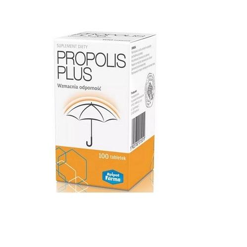 Propolis Plus tabl. 100 tabl. | Apteka internetowa, antyperspirant, avent, bioderma, bioliq, canpol, cera trądzikowa preparaty, dermokosmetyki, geriavit, grzybica leki bez recepty, himalaya, kreon, leki bez recepty, leki na grypę, leki na przeziębienie, leki na uspokojenie, mascara med., maxigra go, maxon, mensil, mugga, mustela, odchudzanie leki, odporność, pirolam, tabletki na ból gardła, test ciążowy, tran mollers, vichy, witamina d, wszy preparaty, zapalenie stawów, zestawy kosmetyków, ziaja