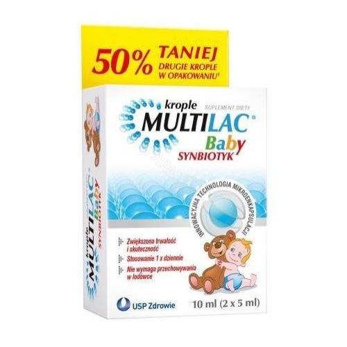 Multilac Baby Synbiotyk 2 but.a 5ml | Apteka internetowa, antyperspirant, avent, bioderma, bioliq, canpol, cera trądzikowa preparaty, dermokosmetyki, geriavit, grzybica leki bez recepty, himalaya, kreon, leki bez recepty, leki na grypę, leki na przeziębienie, leki na uspokojenie, mascara med., maxigra go, maxon, mensil, mugga, mustela, odchudzanie leki, odporność, pirolam, tabletki na ból gardła, test ciążowy, tran mollers, vichy, witamina d, wszy preparaty, zapalenie stawów, zestawy kosmetyków, ziaja