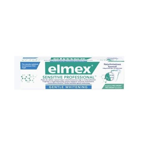 Pasta d/zęb.ELMEX Sens.Profes.White.75 ml | Apteka internetowa, antyperspirant, avent, bioderma, bioliq, canpol, cera trądzikowa preparaty, dermokosmetyki, geriavit, grzybica leki bez recepty, himalaya, kreon, leki bez recepty, leki na grypę, leki na przeziębienie, leki na uspokojenie, mascara med., maxigra go, maxon, mensil, mugga, mustela, odchudzanie leki, odporność, pirolam, tabletki na ból gardła, test ciążowy, tran mollers, vichy, witamina d, wszy preparaty, zapalenie stawów, zestawy kosmetyków, ziaja