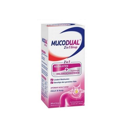Mucodual Syrop 100 ml | Apteka internetowa, antyperspirant, avent, bioderma, bioliq, canpol, cera trądzikowa preparaty, dermokosmetyki, geriavit, grzybica leki bez recepty, himalaya, kreon, leki bez recepty, leki na grypę, leki na przeziębienie, leki na uspokojenie, mascara med., maxigra go, maxon, mensil, mugga, mustela, odchudzanie leki, odporność, pirolam, tabletki na ból gardła, test ciążowy, tran mollers, vichy, witamina d, wszy preparaty, zapalenie stawów, zestawy kosmetyków, ziaja