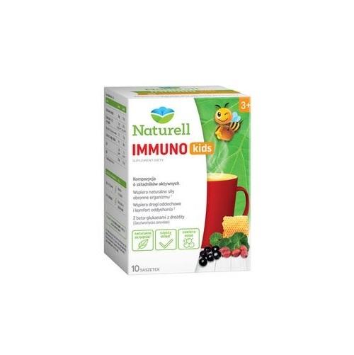 Naturell Immuno Kids saszet. 10 sasz. | Apteka internetowa, antyperspirant, avent, bioderma, bioliq, canpol, cera trądzikowa preparaty, dermokosmetyki, geriavit, grzybica leki bez recepty, himalaya, kreon, leki bez recepty, leki na grypę, leki na przeziębienie, leki na uspokojenie, mascara med., maxigra go, maxon, mensil, mugga, mustela, odchudzanie leki, odporność, pirolam, tabletki na ból gardła, test ciążowy, tran mollers, vichy, witamina d, wszy preparaty, zapalenie stawów, zestawy kosmetyków, ziaja